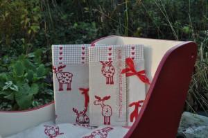 Rode notitieboekjes
